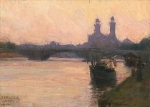 The Seine, c. 1902.