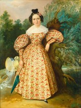 Portrait of a Young Lady, c. 1835.