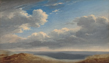 Study of Clouds over the Roman Campagna, c. 1782/1785.