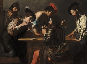 Soldiers Playing Cards and Dice (The Cheats), c. 1618/1620.