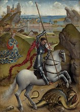 Saint George and the Dragon, c. 1432/1435.