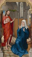 Christ Appearing to the Virgin, c. 1475.