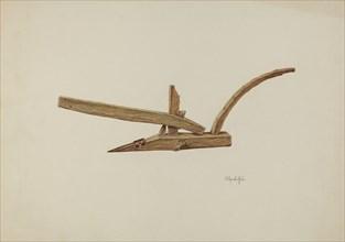 Plow, c. 1941.