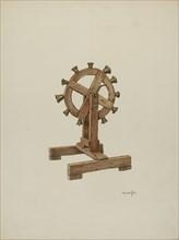 Altar Chimes on Wheel, 1941.