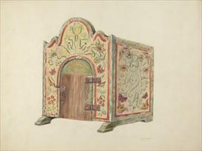Altar Tabernacle, c. 1940.