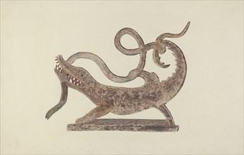 Dragon and Serpent Weather Vane, c. 1938.