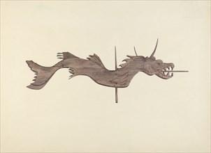 Dragon Weather Vane, 1935/1942.