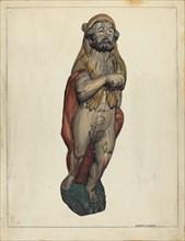 Figurehead: Hercules, c. 1940.