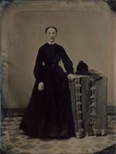 Portrait of a Civil War Widow, 1860s.