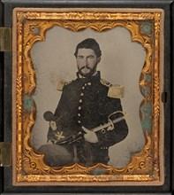 Second Lieutenant Henry W. Hayden, 1863.