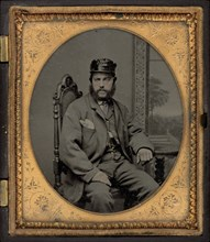 Portrait of a Soldier, 1860s.