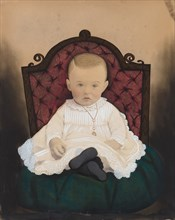 Portrait of a Baby, 1880s.