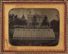House with Greenhouse, Virginia, c. 1850.