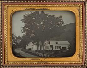 House on a Hillside, c. 1850.