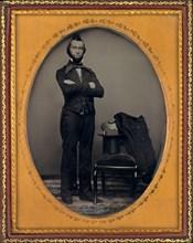 Portrait of a Man, c. 1850.