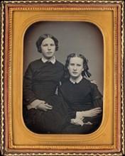 Portrait of Two Girls, c. 1853.