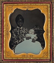 Portrait of a Woman and Baby, 1853.