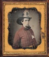 Portrait of a Fireman, c. 1850.