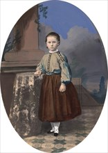 Portrait of a Girl, 1860s.