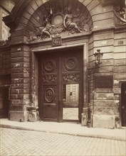 Hôtel des Ambassadeurs de Hollande, 47 rue Vieille-du-Temple, 1900.
