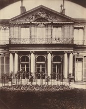 Hotel d'Argenson, rue de Grenelle 101, 1907-1908.