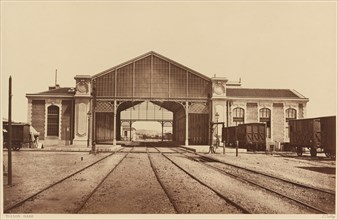 Toulon, Gare (Toulon, Train Station), 1861 or later.