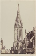 Church of Saint-Pierre, Caen, 1855.