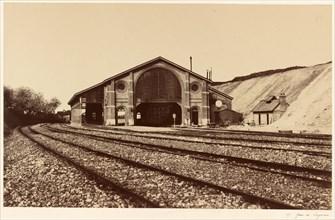 Gare de Longueau, 1855.