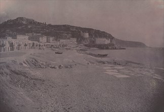 Les Ponchettes à Nice, c. 1855.