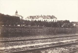 Abbaye du Gard pres d' Abbeville, c. 1855.