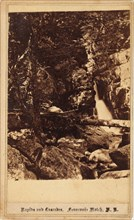 Rapids and Cascades, Franconia Notch, New Hampshire, 1860s.