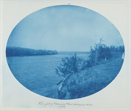 From Foot of Robinson's Rock Looking Upstream, 1891.