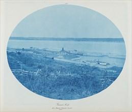 Guard Rock, Des Moines Rapids Canal L.W., 1885.