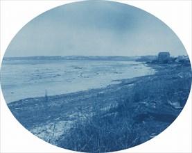 Levee at Rapids City, Illinois, 1891.