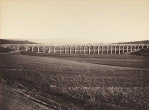 Arcades de pont sur Vanne (Arcades, Bridge over the Vanne), 1873.