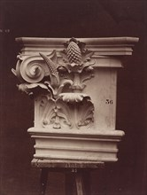 Ornamental Sculpture from the Paris Opera House (Column Detail), 1865/1874.