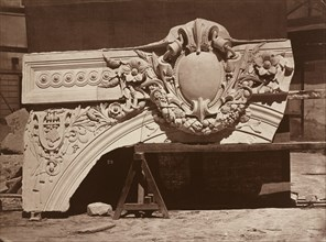 Ornamental Sculpture from the Paris Opera House (Arch Detail), 1865.