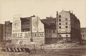 Maison de la Belle Jardinière, 1866 or 1867.