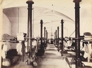 Les Salles des Gardes, Palais des Papes, Avignon, France, 1860s.