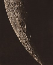 Carte photographique de la lune, 1909.