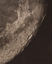 Carte photographique de la lune, 1904.