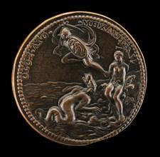 Perseus Rescuing Andromeda [reverse], 16th century.