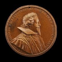 Nicolas de Bailleul, 1587-1652, Mayor of Paris 1622-1628 [obverse], 1623.