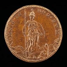 Minerva Armed [reverse], 1562.