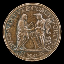 Virtue and Fortune [reverse], 1513.