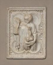 Charity, c. 1330.