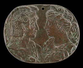 Mars and Diana, fourth quarter 15th century. [After the Antique].