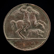 Meleager on Horseback [reverse], late 15th - early 16th century.