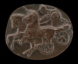 Minerva on a Chariot, 15th or 16th century. After the Antique.