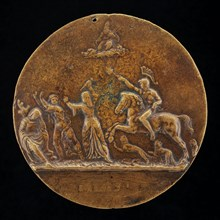 Mars Pursuing other Figures [reverse], 1513.